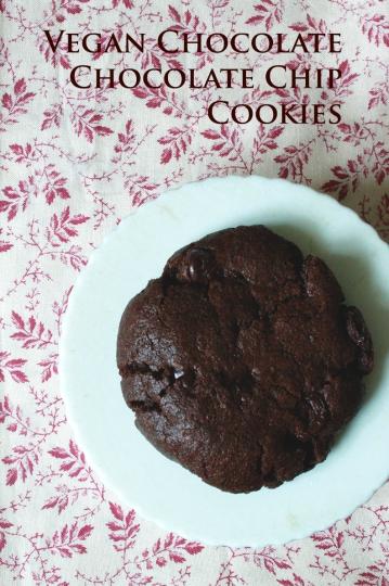 veganchocolatechocolatechipcookies